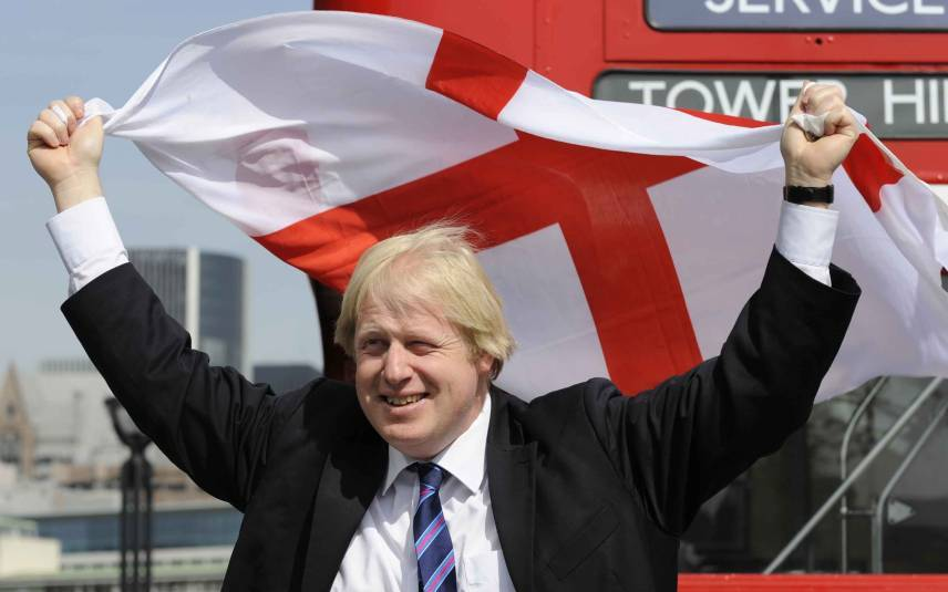 Boris Johnson, former mayor of London, hopes to win Thursday's referendum on the back of English nationalism. (Telegraph)