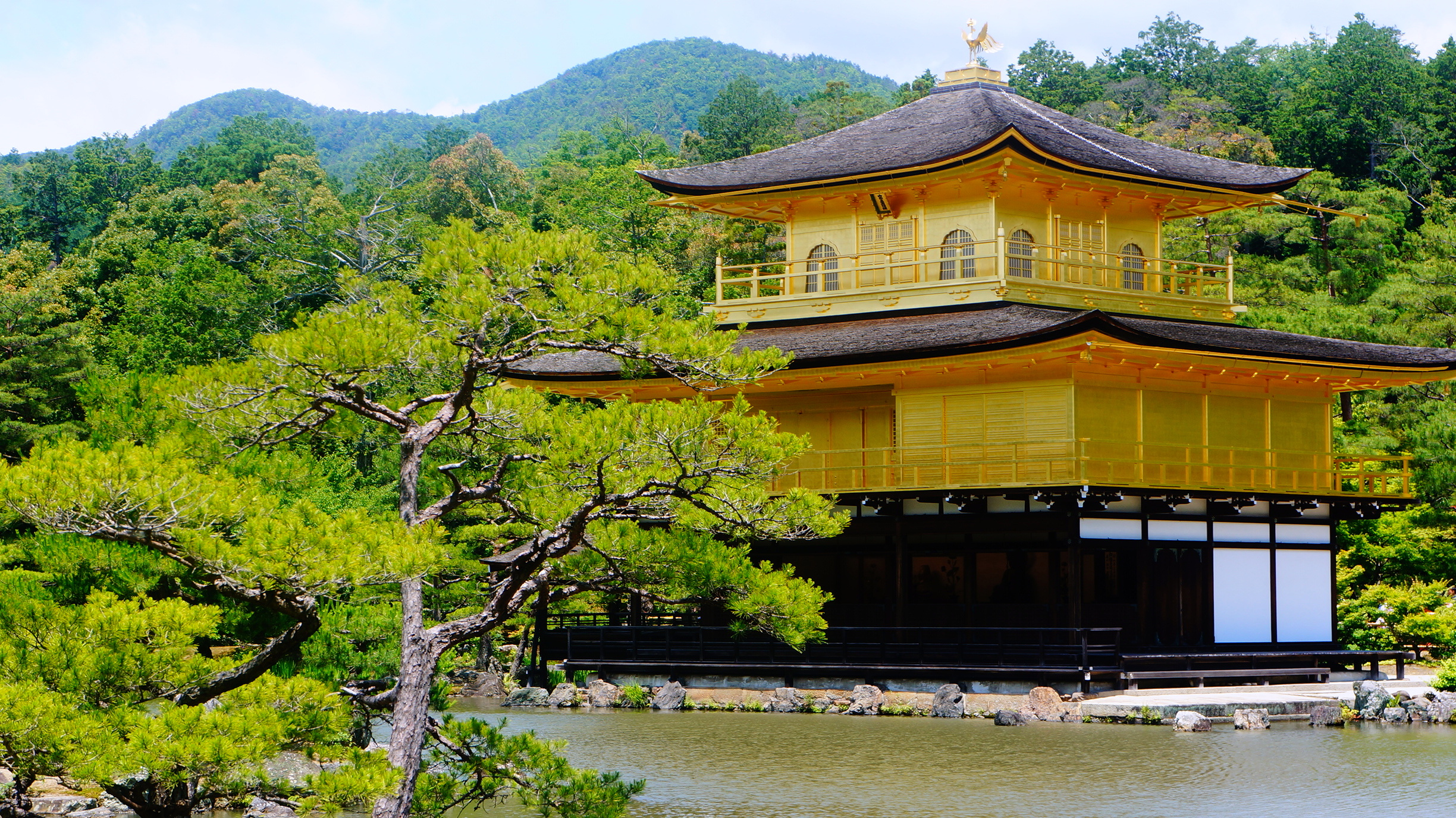 Kinkaku-ji is one of Kyoto's most magnificent temples.