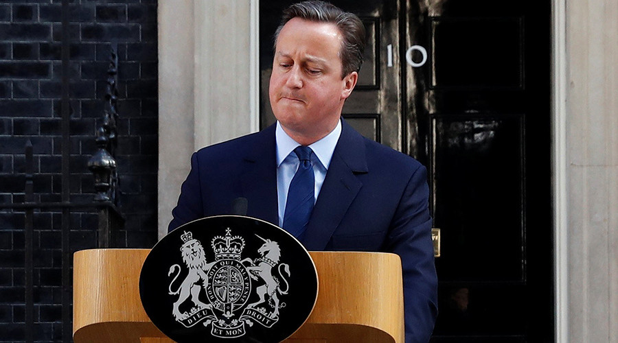 Prime minister David Cameron resigned earlier this morning. (Stefan Wermuth / Reuters)