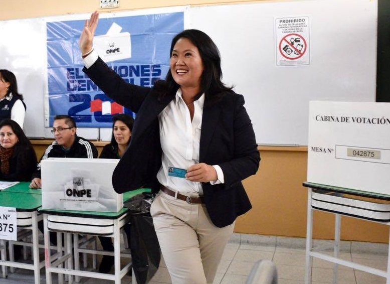 Keiko Fujimori may have lost the presidency, by a narrow margin, but she remains Peru's most formidable politician. (Facebook)