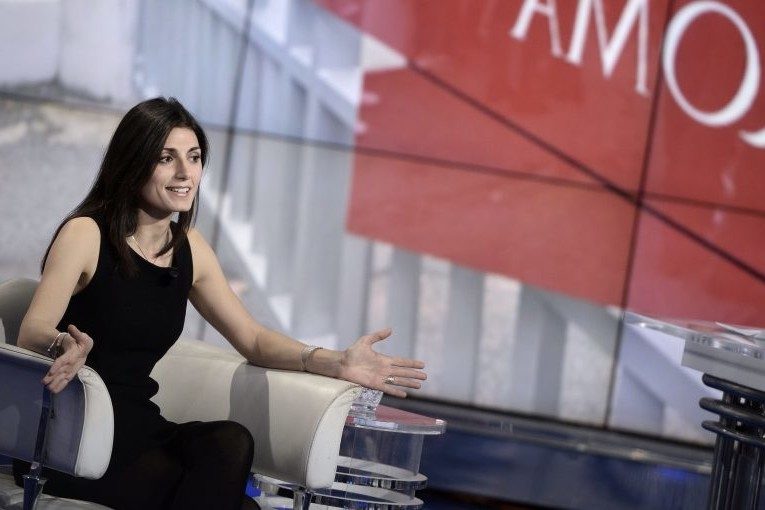 Virginia Raggi hopes to become the most influential Five Star Movement activist on Sunday by winning Rome's mayoral election.