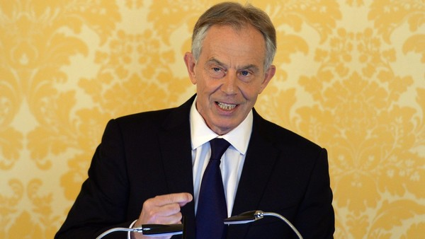 Former prime minister Tony Blair appeared a sad shadow of his once dominant self responding to the Chilcot report on the mistakes of the Iraq war.