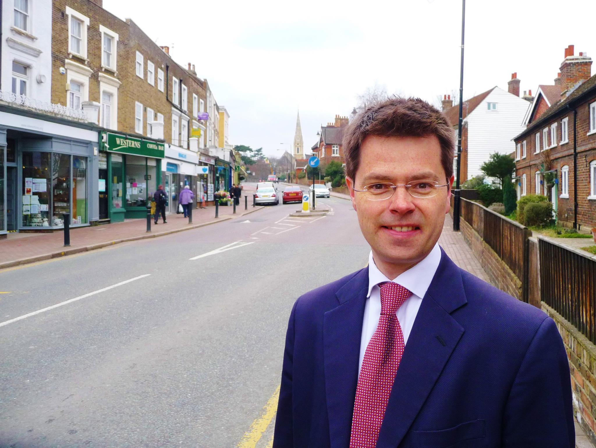 James Brokenshire, a Tory MP from greater London, is the new secretary of state for Northern Ireland. (Facebook)