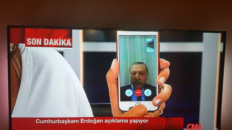 Instead of appearing weak or out of control, a shaky FaceTime appearance on national television turned the tide against the coup's plotters.