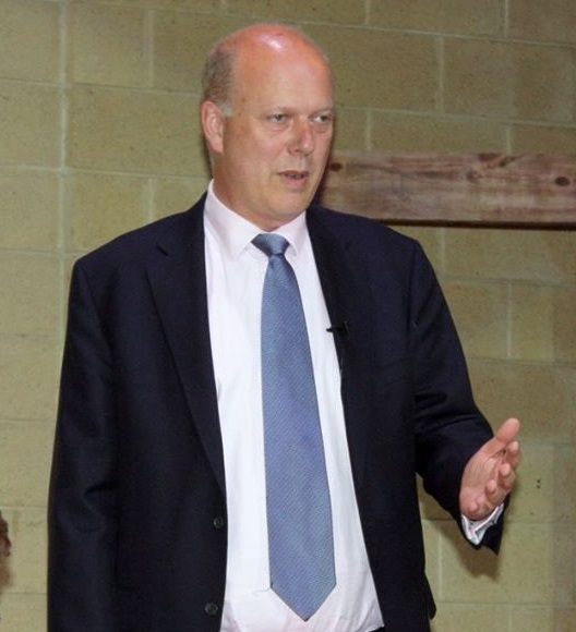 May could entrust Brexit negotiations to a top ally, like Leave supporter Chris Grayling. (Facebook)