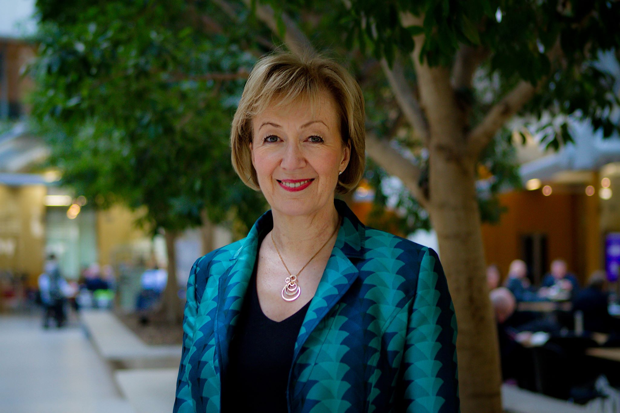 Iron Lady, she wasn't. Andrea Leadsom dropped out of the Tory leadership race after just four days. (Facebook)