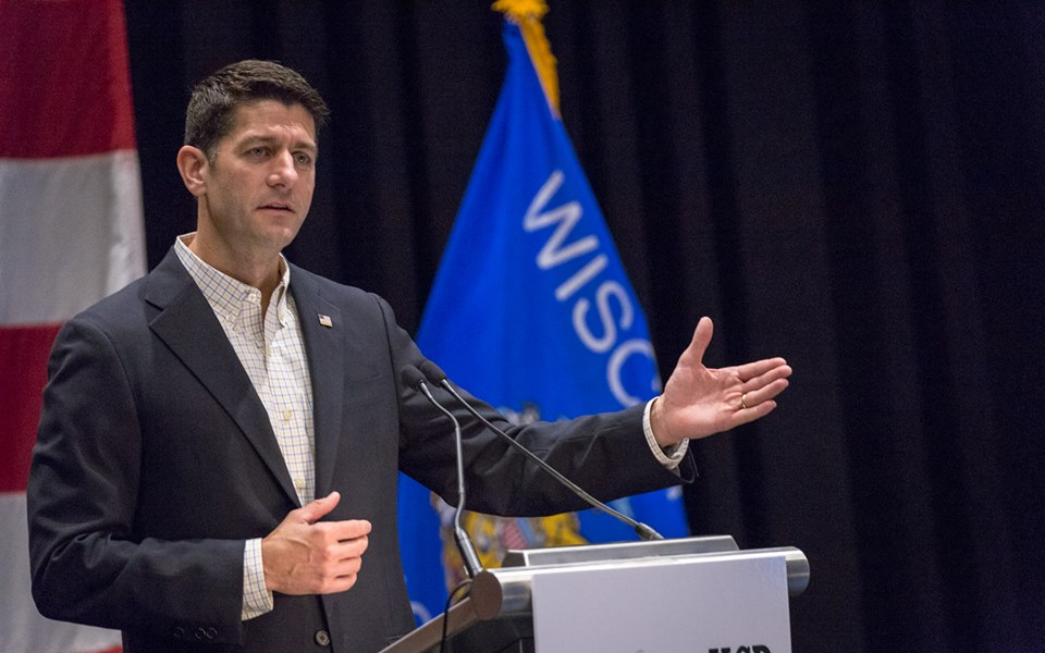 Paul Ryan, speaker of the House of Representatives, faces a unique primary challenge on August 9. (Facebook)