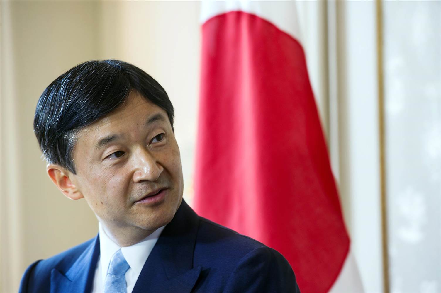 Naruhito, Japan's crown prince, would assume the Chrysanthemum Throne if his father Akihito were permitted to abdicate. (Sebastien Bozon / AFP - Getty)