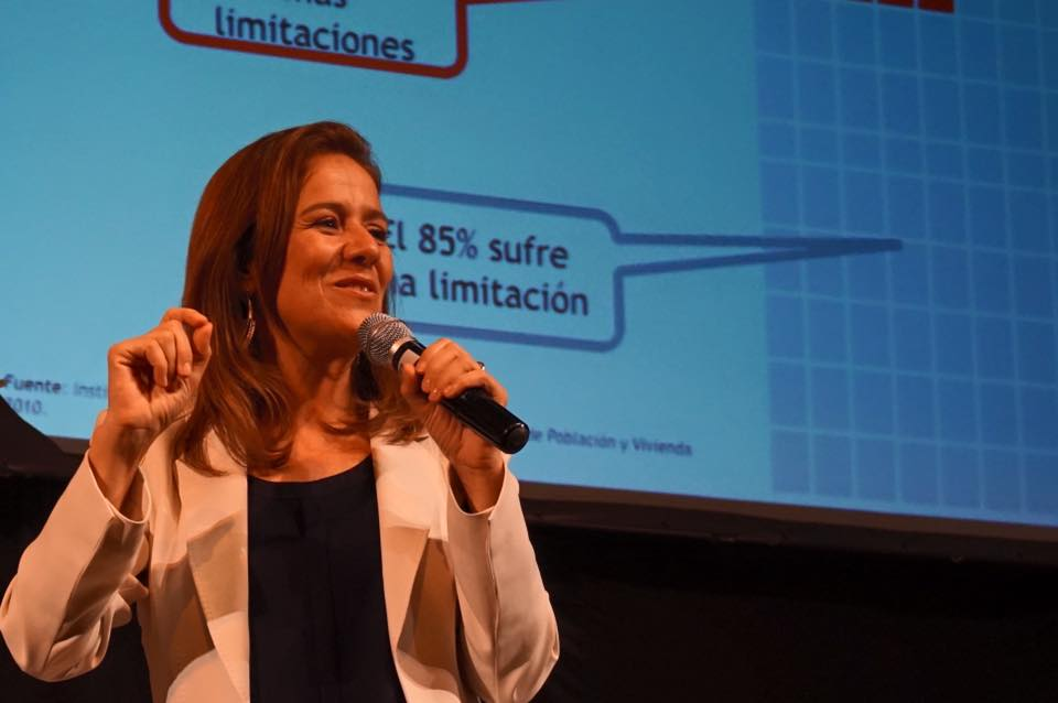 Margarita Zavala, Mexico's former first lady and leading conservative presidential contender in 2018, said Trump isn't welcome in Mexico, that Mexicans have dignity and that they repudiate his hate speech. (Facebook)