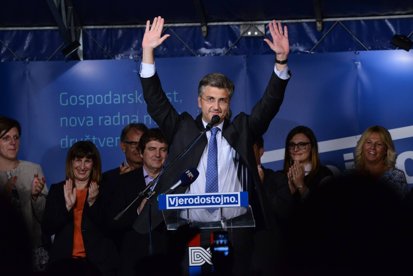 Andrej Plenković, a former diplomat, is likely to become Croatia's next prime minister. (Facebook)