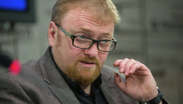 Anti-gay crusader Vitaly Milonov won a member constituency race in St. Petersburg. (RIA)