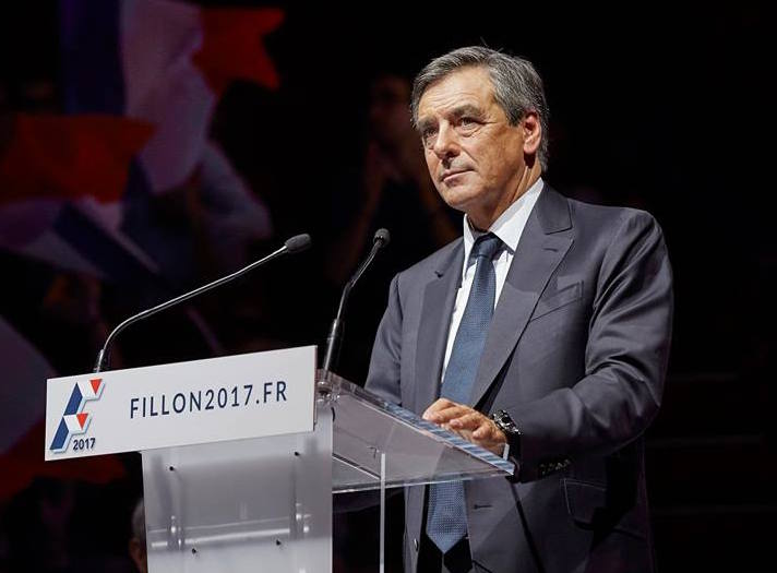Former prime minister François Fillon is now the odds-on favorite for the French presidency, but five months is a long time. (Facebook)