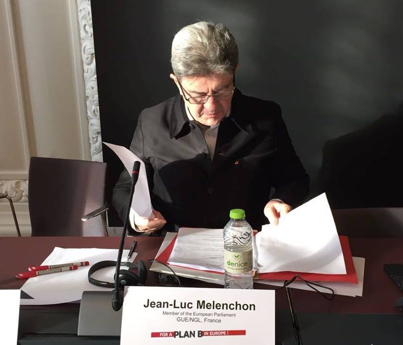Jean-Luc Mélenchon could benefit from the rise of a new global left and a divided field of centrist candidates to emerge as a surprise contender in 2017's runoff. (Facebook)