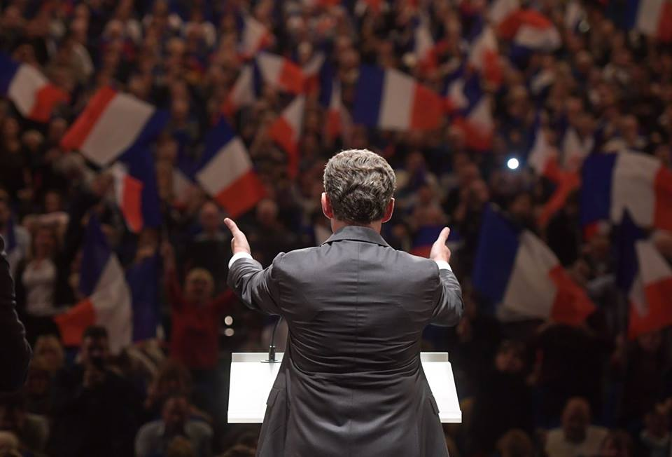 Nicolas Sarkozy's hopes for a comeback crashed to a halt Sunday evening with a third-place finish in France's conservative presidential primary. (Facebook)